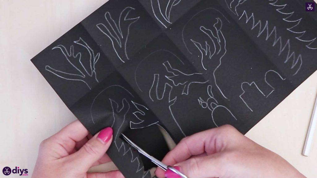 Bricolage papier lanterne art pliant papier