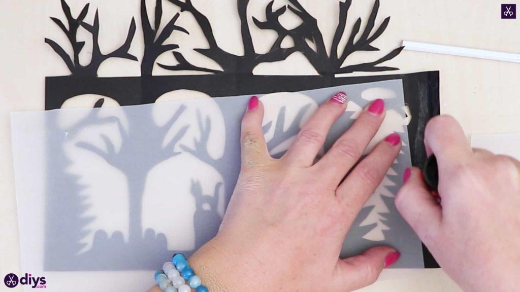 Lanterne en papier bricolage art ahe