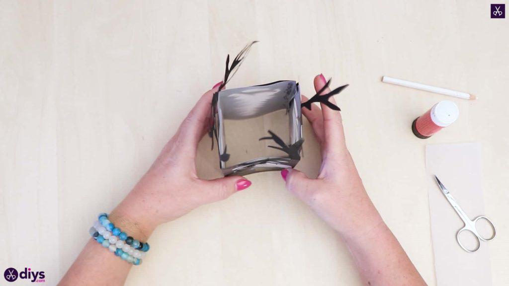 Lanterne en papier bricolage art étape 6bc