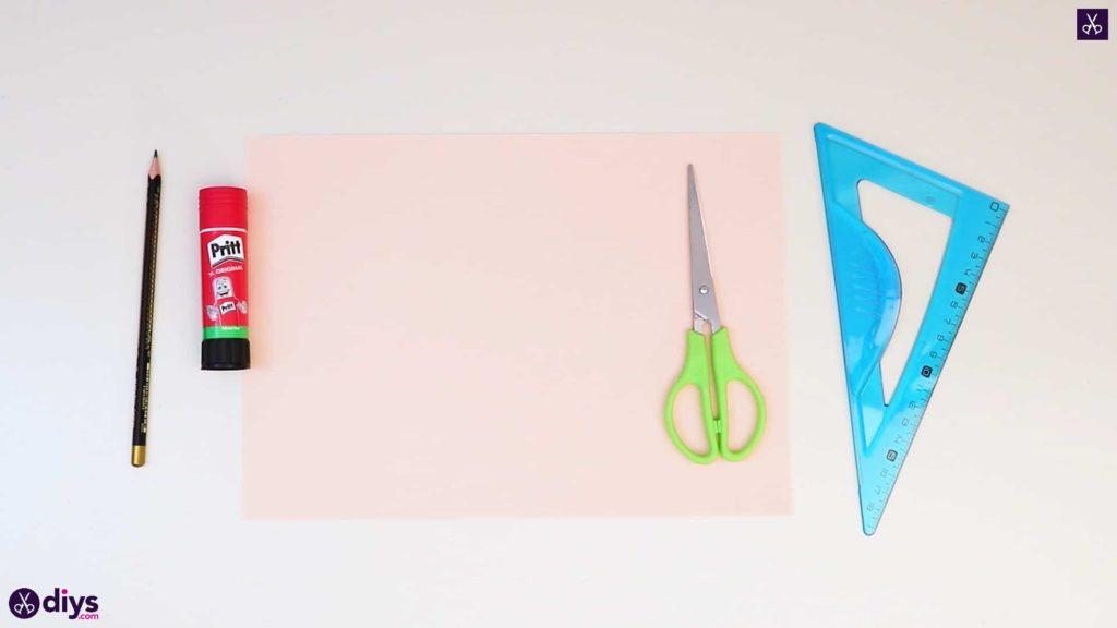 Matériaux de papier rose bricolage réalistes