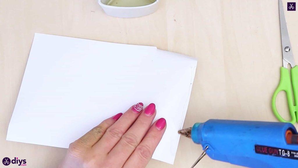 Colle porte-anneau en béton bricolage
