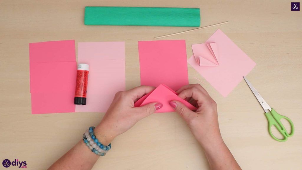 Bricolage 3d papier fleur tous matériaux