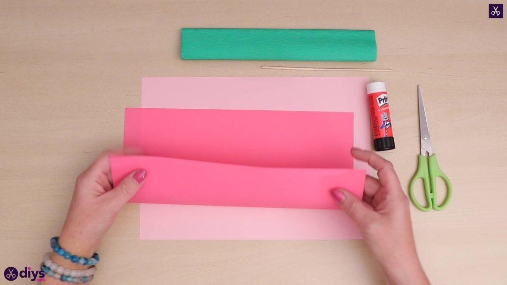 Papier de bricolage papier fleur 3d