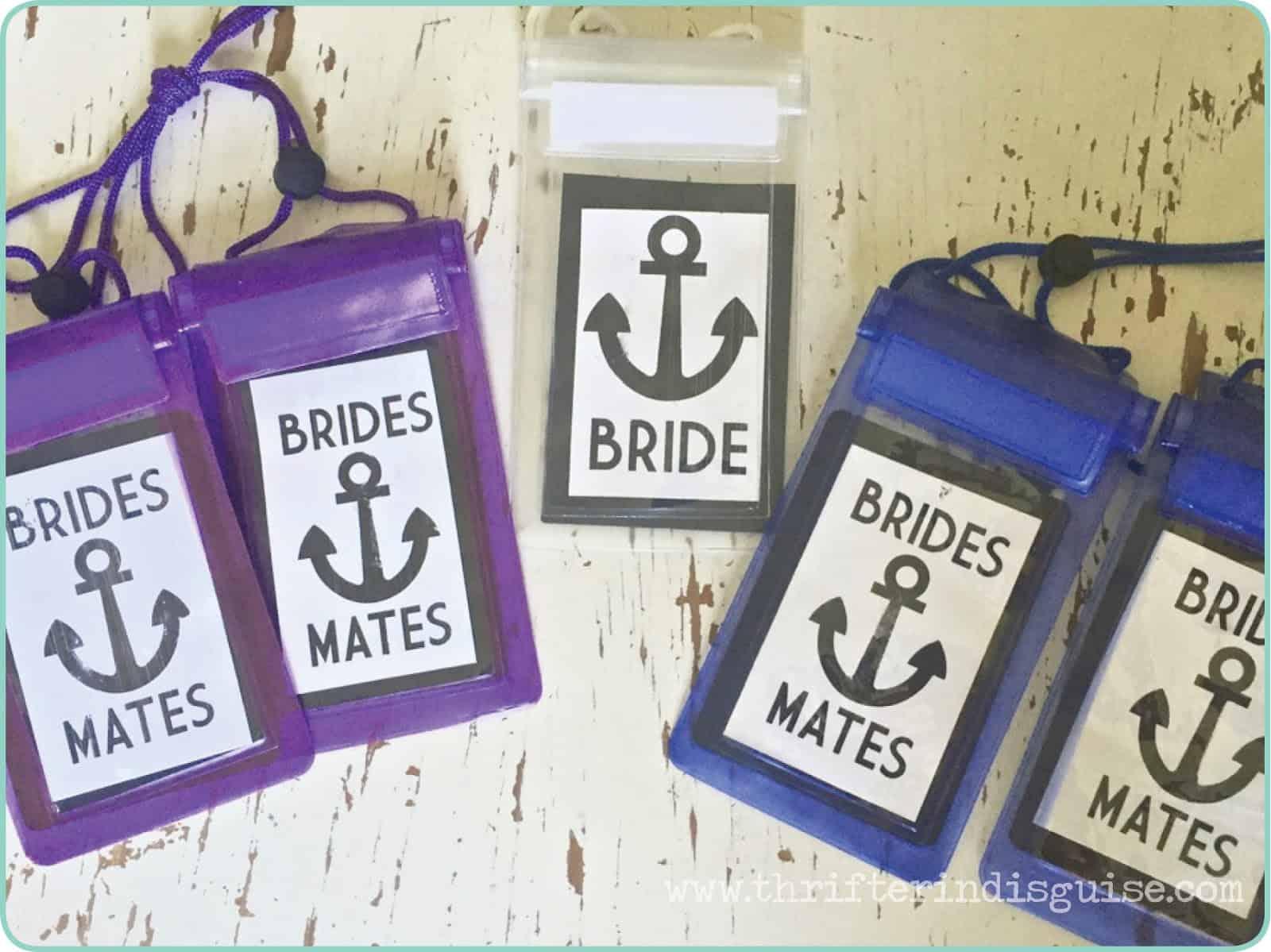 Kits de fête de bachelorette sur la plage de bricolage
