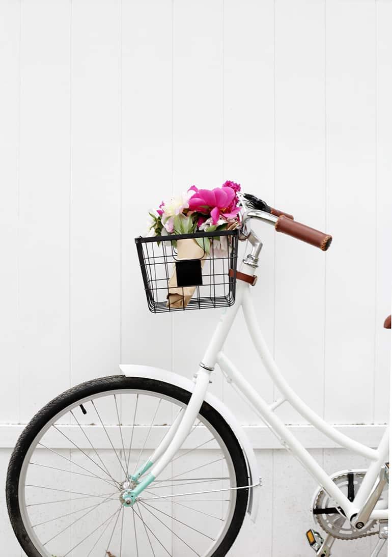 Panier de vélo de bricolage