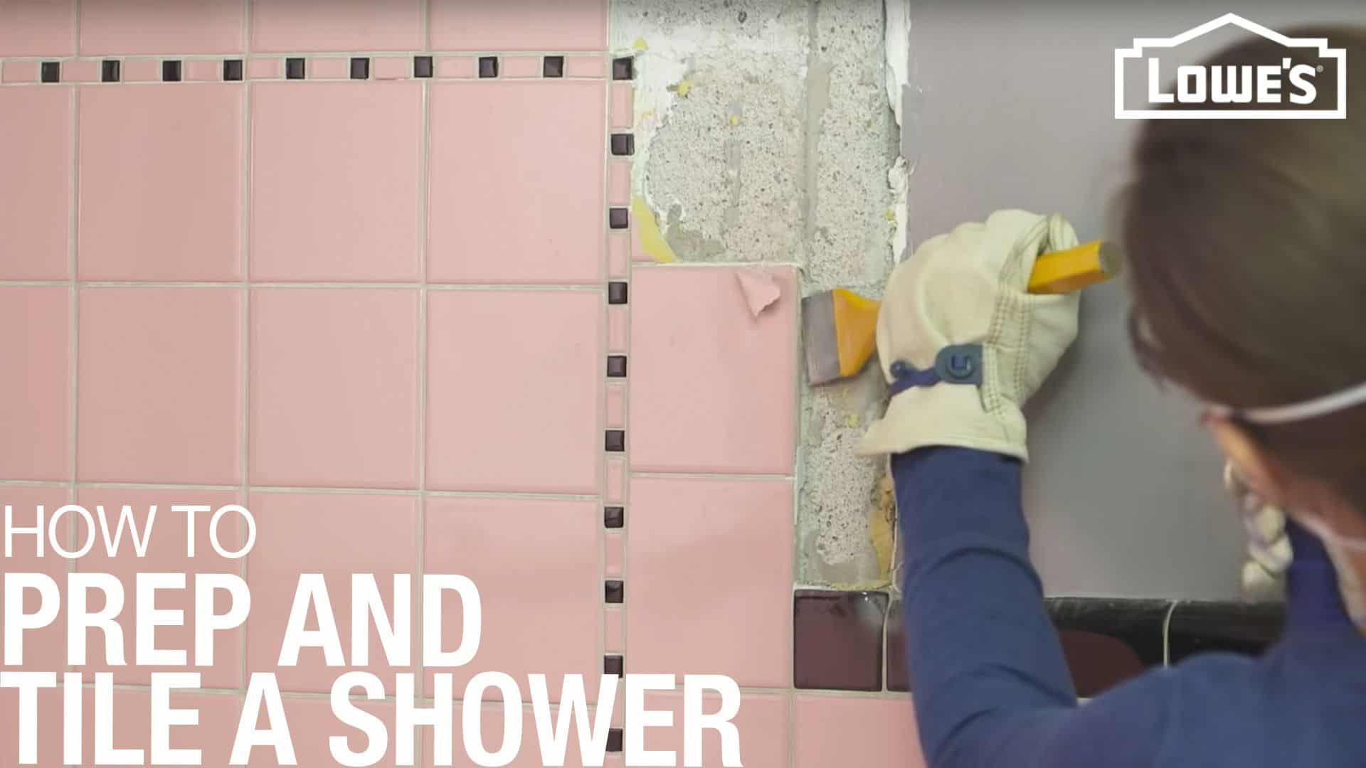 Guides de préparation complets pour les douches carrelées du métro