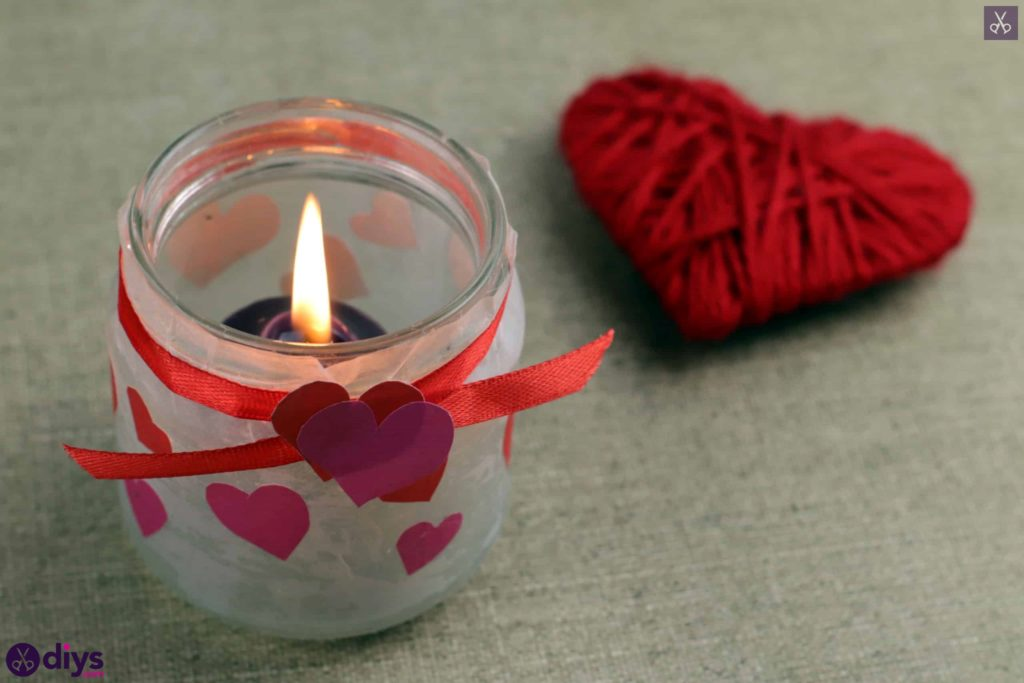 Bougeoir de Saint Valentin bougeoir