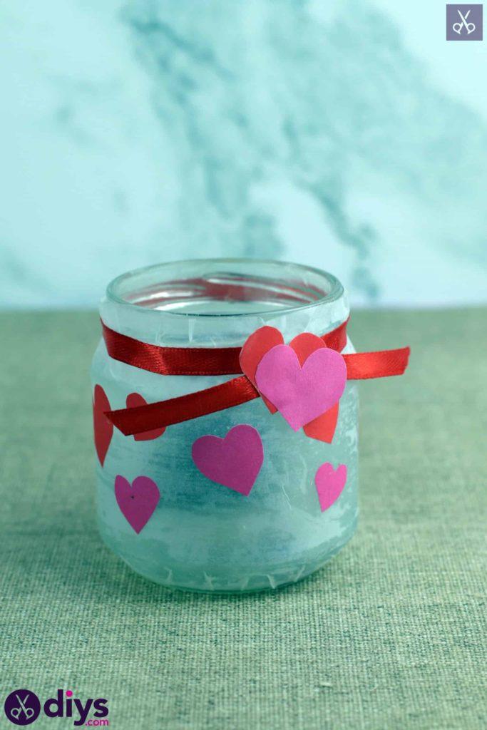 Bougeoir Saint Valentin simple