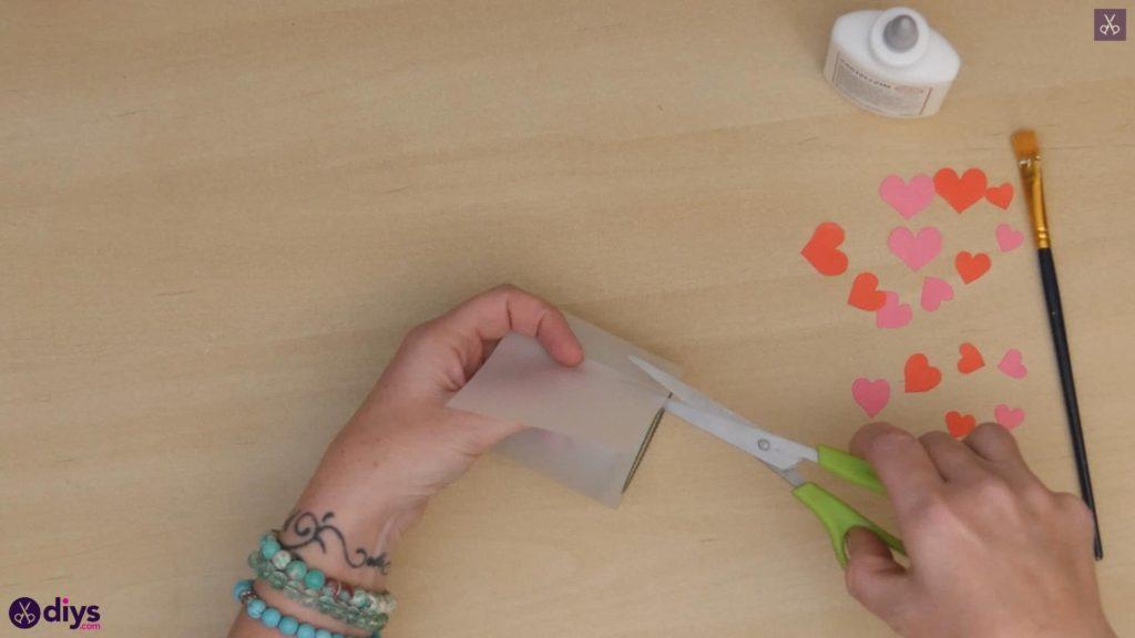 Bougeoir Saint Valentin étape 3c