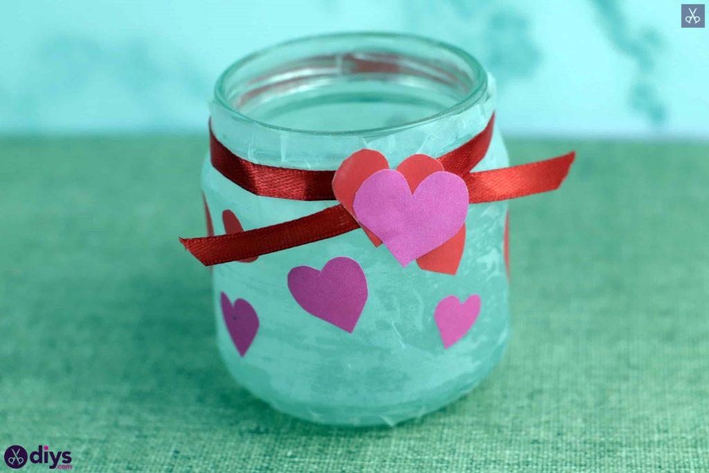 Bougeoir Saint Valentin étape 8