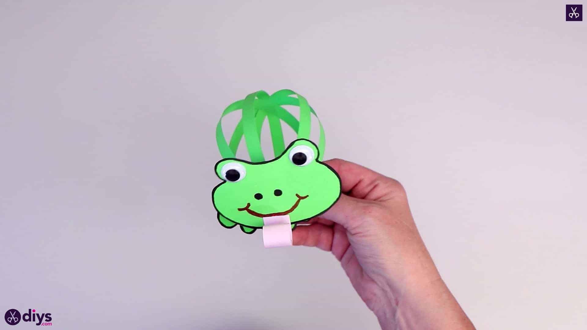 Comment faire une grenouille en papier