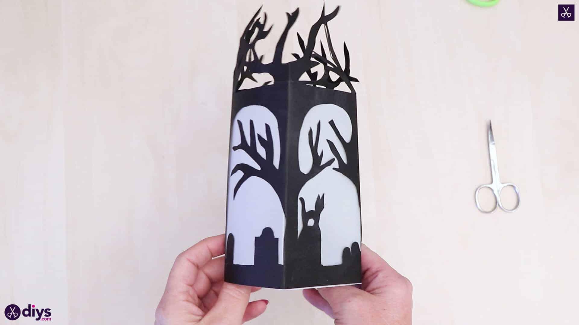 Art de lanterne en papier bricolage