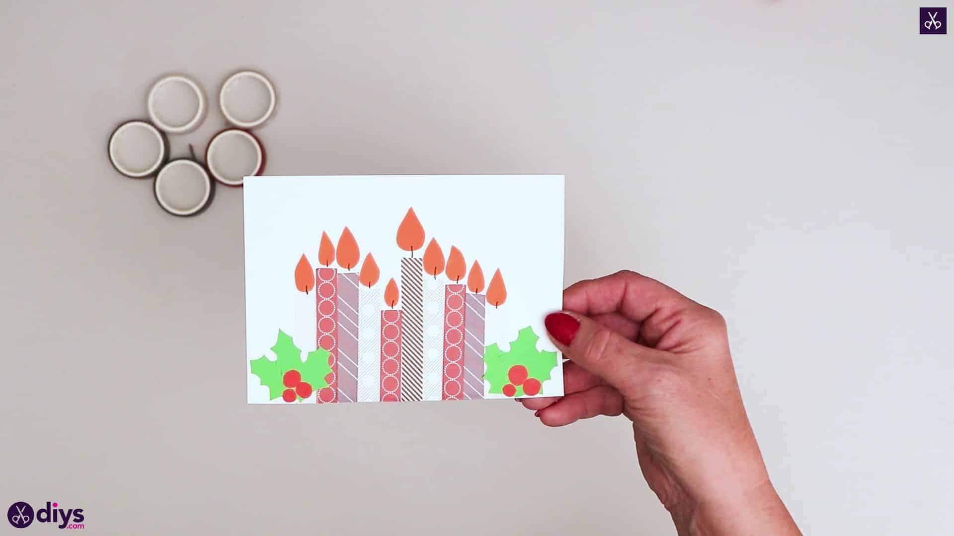 Carte d'anniversaire bricolage