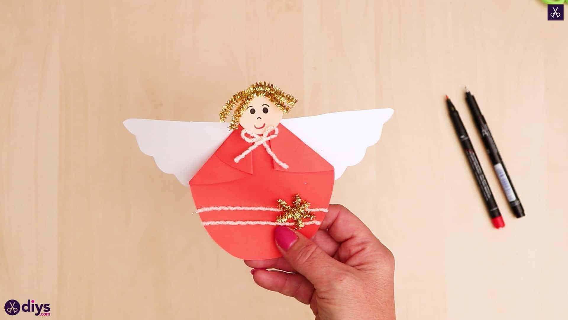 Papier ange enfants artisanat