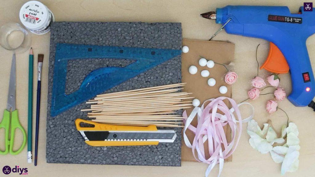 Matériaux de pièce maîtresse de cage miniature bricolage