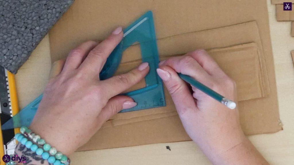 Pièce maîtresse de cage miniature bricolage étape 4b