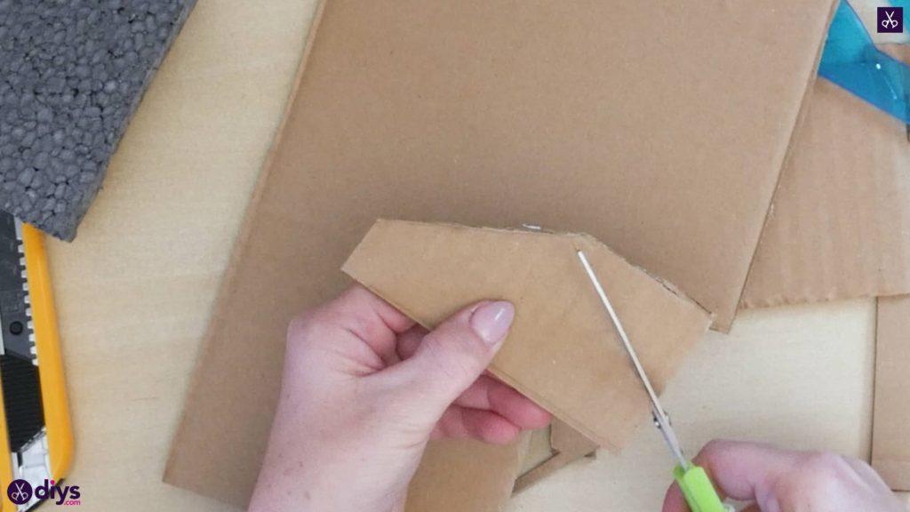 Pièce maîtresse de cage miniature bricolage étape 4i
