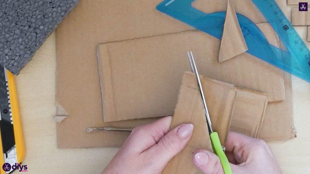 Pièce maîtresse de cage miniature bricolage étape 4f