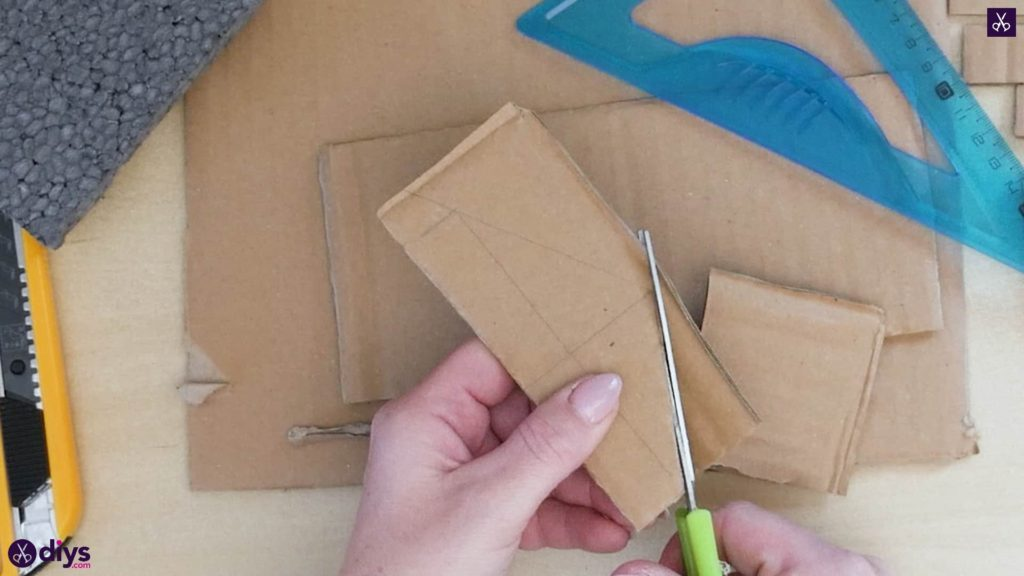 Pièce maîtresse de cage miniature bricolage étape 4e