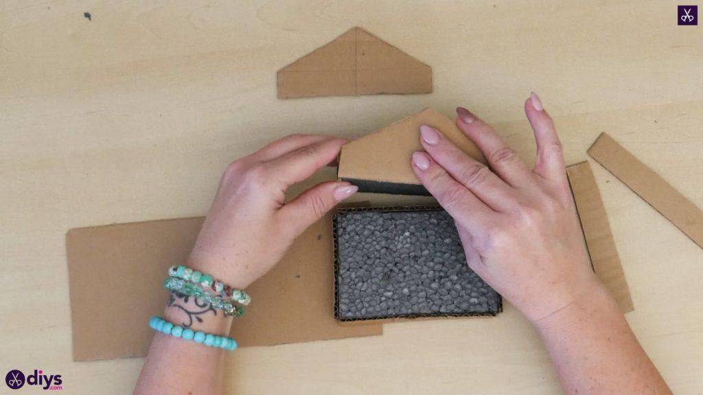 Pièce maîtresse de cage miniature bricolage Étape 5N