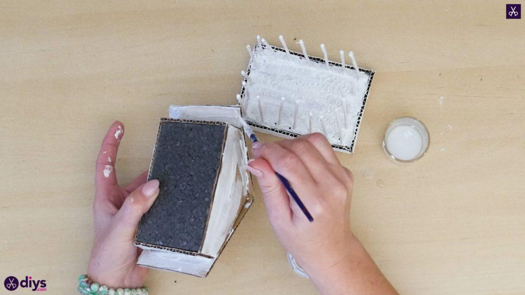 Pièce maîtresse de cage miniature bricolage étape 8e
