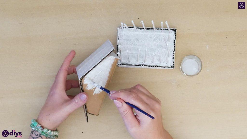 Pièce maîtresse de cage miniature bricolage étape 8d