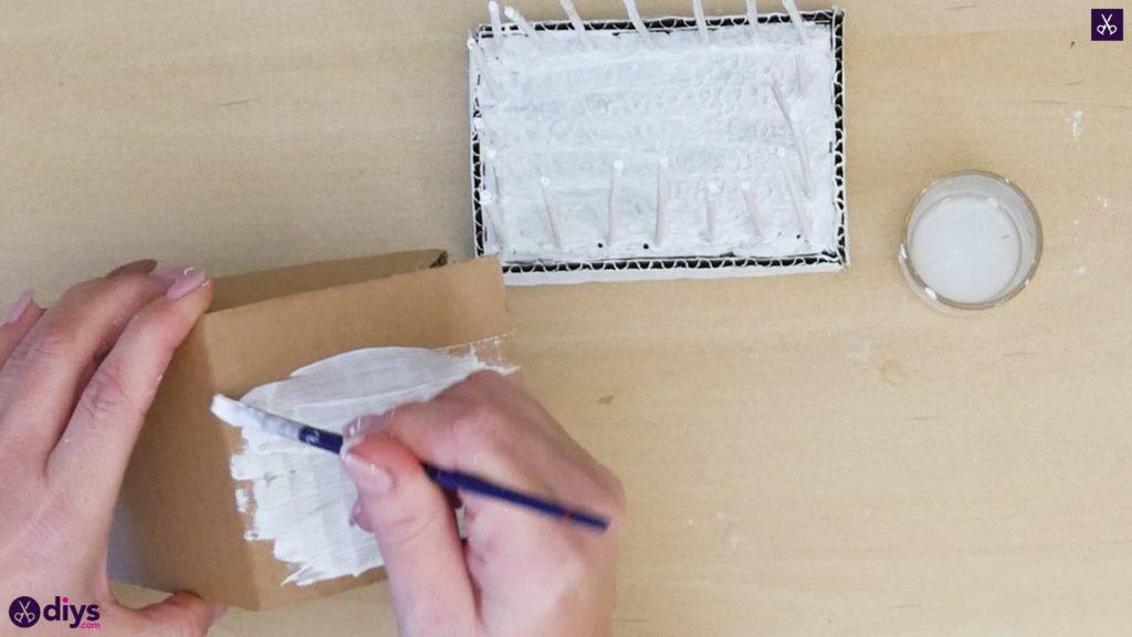 Pièce maîtresse de cage miniature bricolage étape 8c