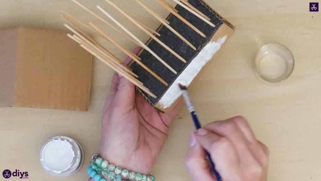 Pièce maîtresse de cage miniature bricolage étape 8