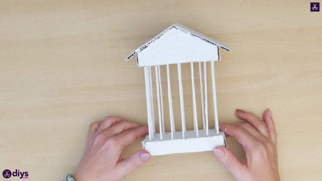 Pièce maîtresse de cage miniature bricolage étape 9b