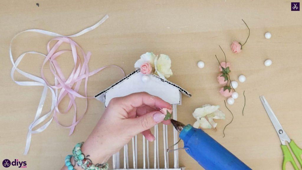 Pièce maîtresse de cage miniature DIY étape 10g
