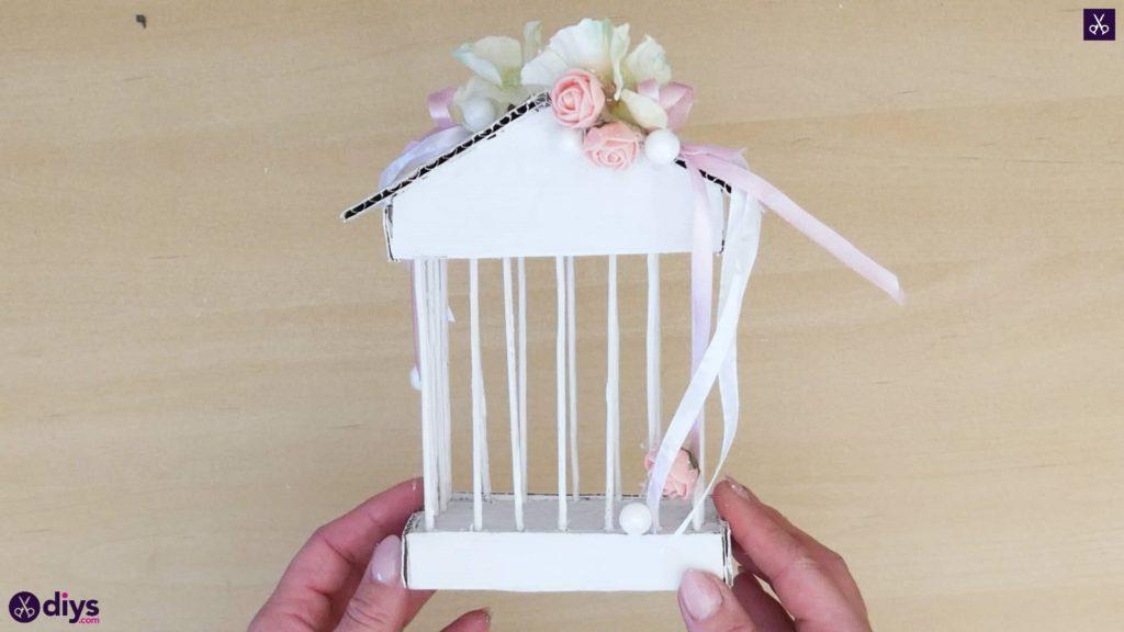 Pièce maîtresse de cage miniature bricolage Étape 10R