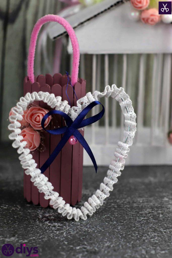 Décoration de coeur de mariage bricolage étape 7 décoration de table