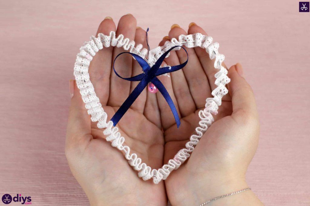 Bricolage mariage coeur décor simple bricolage
