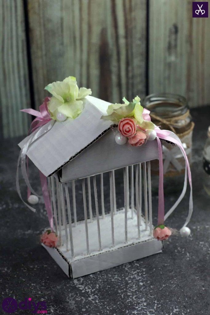 Décor de pièce maîtresse de cage miniature bricolage