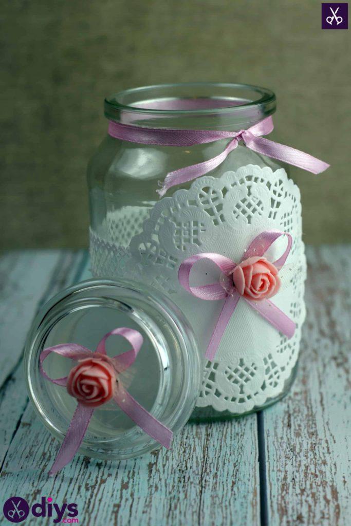 Centre de table Mason Jar pour les mariages DIY