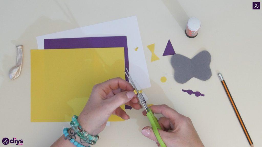 Carte d'éléphant ballon bricolage étape 4c
