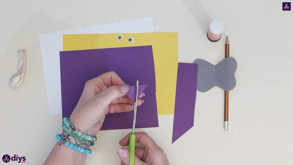 Carte d'éléphant de ballon bricolage étape 2a