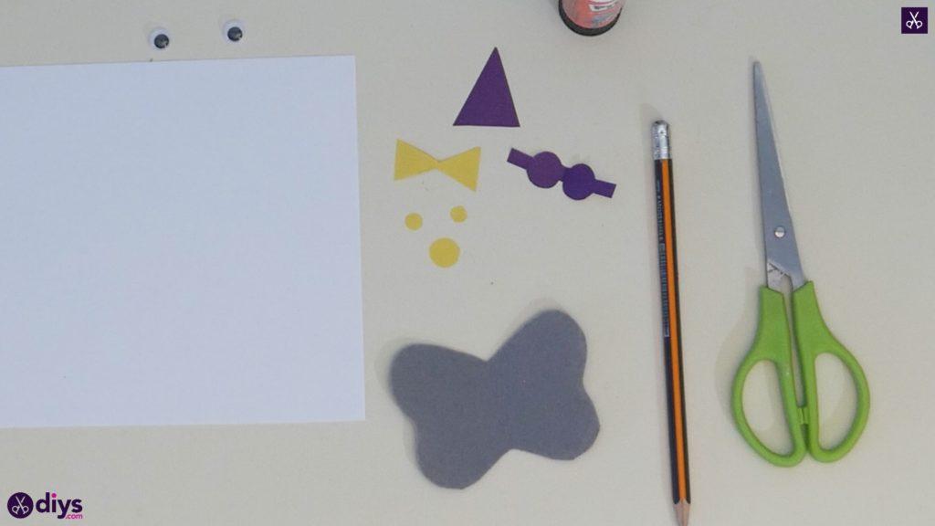 Carte d'éléphant de ballon bricolage étape 4d