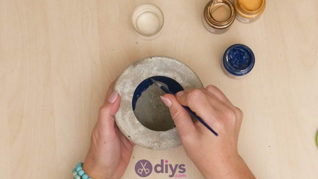 Cendrier en béton bricolage étape 6