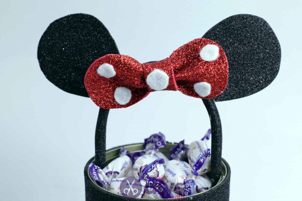 Boîte de conserve de Minnie Mouse