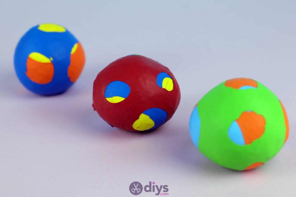 Haut de balles de jonglage bricolage