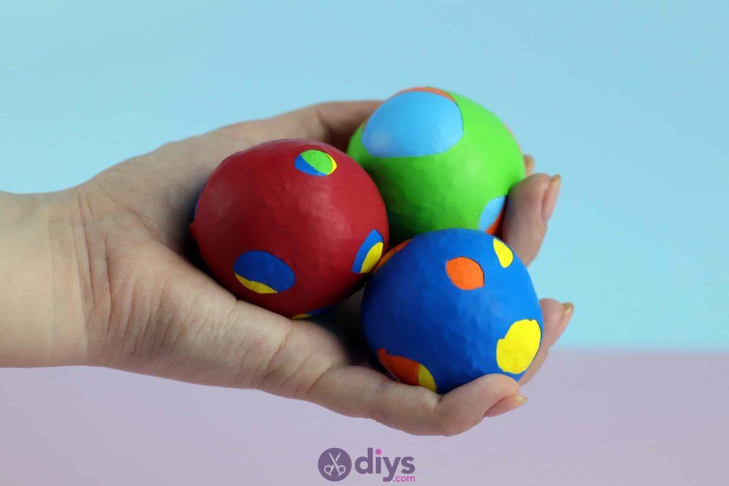 Projet de boules de jonglage bricolage