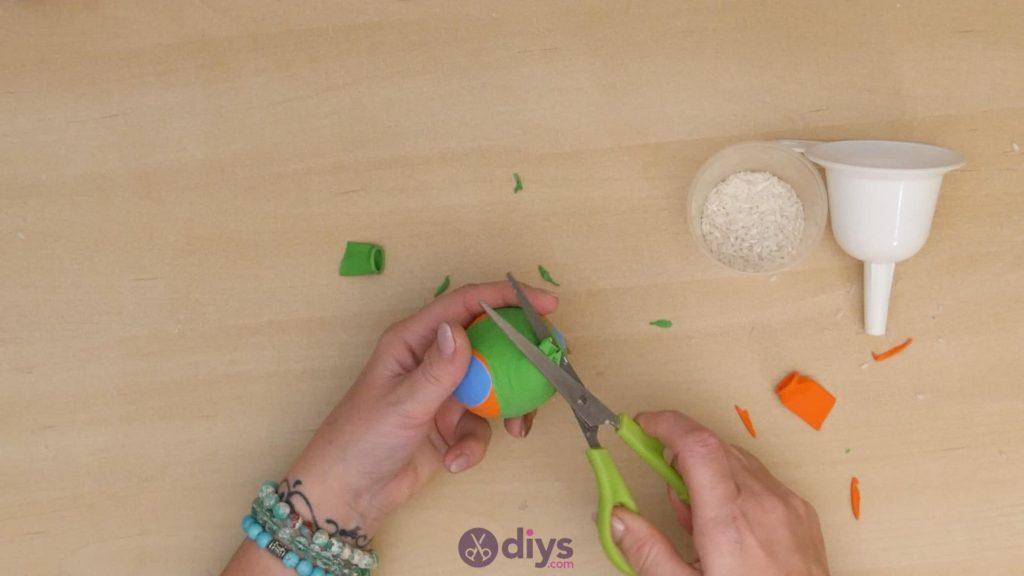 Balles de jonglage bricolage étape 5d