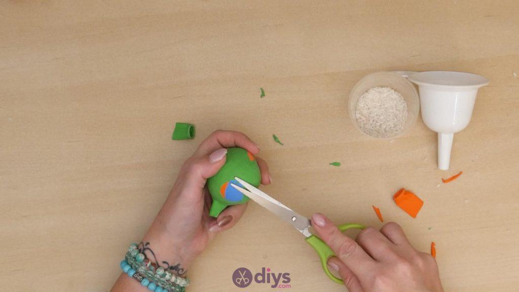 Balles de jonglage bricolage étape 5c