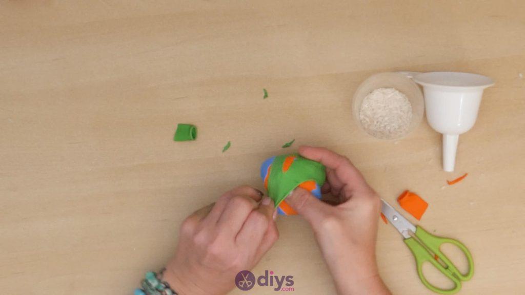 Balles de jonglage bricolage étape 5b