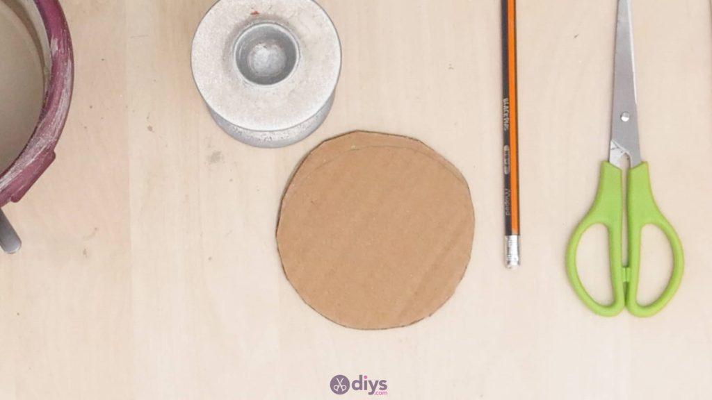 Support de napperon en béton bricolage étape 3a
