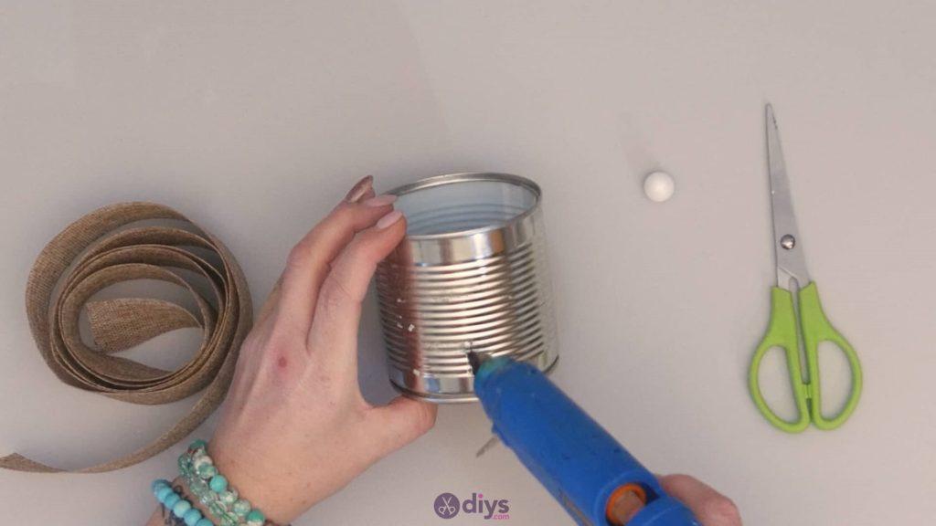 Boîte de conserve rustique bricolage boîtes de conserve