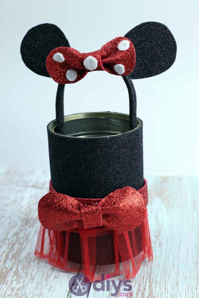 Boîte de conserve Minnie Mouse