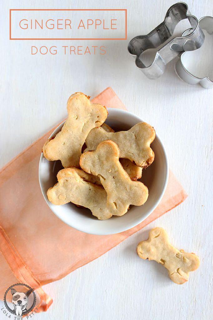 Recette de gâterie aux pommes et au gingembre
