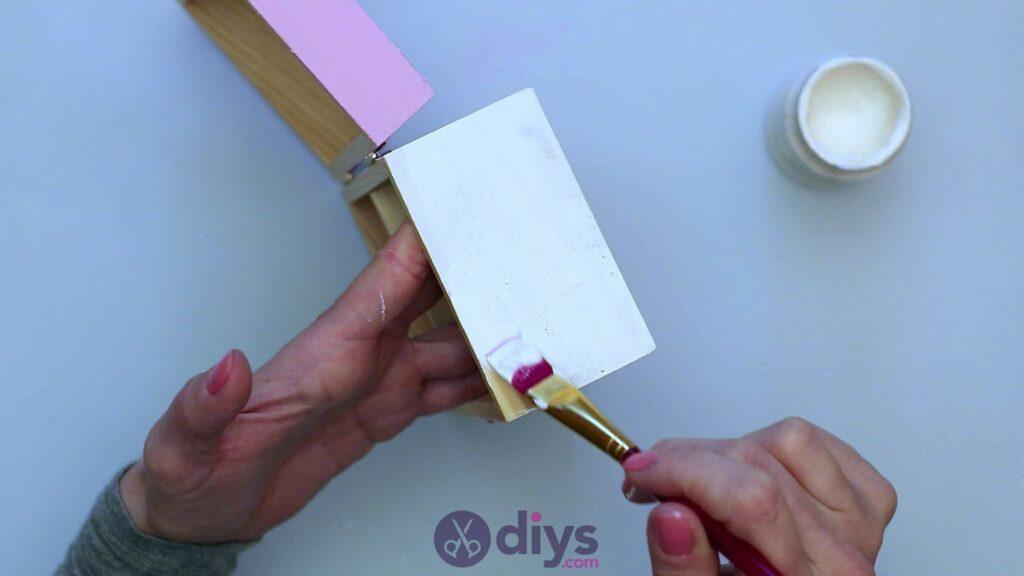 Découpage boîte à bijoux en bois étape 5b